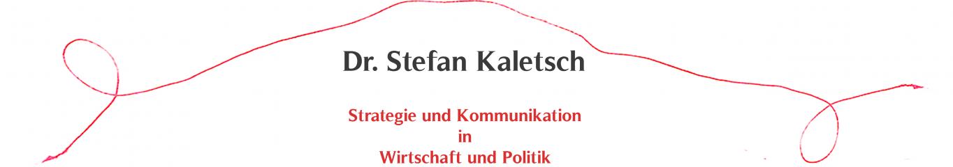 Dr. Stefan Kaletsch